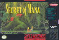 Secret Of Mana SNES cover