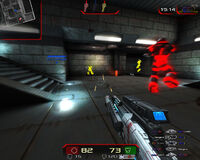 Xonotic Linux screenshot