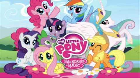 """""""My Little Pony Friendship is Magic Theme"""" (Guitar Cover)"""