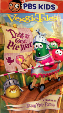 Duke and the Great Pie War PBS Kids Front Cover