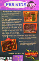 LarryBoy and the Fib from Outer Space PBS Kids Back Cover