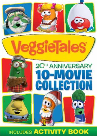 VeggieTales 20th Anniversary 10 Movie Collection