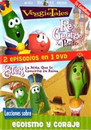 VeggieTales - Rey George y el patito & Ester... La niña que se convirtió en reina (DVD)