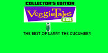 VeggieTales Kids The Best of Larry the Cucumber 2001 VHS back cover