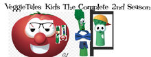 Front cover of VeggieTales Kids The Complete Second Season DVD