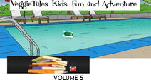 VeggieTales Kids Fun and Adventure 2000 VHS front cover
