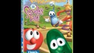 Veggie Tales A Snoodle's Tale Rare 2003 Prototype DVD