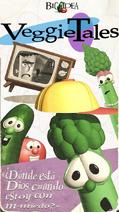 VeggieTales -Donde está Dios cuando estoy con m-miedo (VHS)