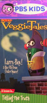 LarryBoy and the Fib from Outer Space PBS Kids Front Cover