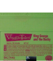 King George and the Ducky PBS Kids Tape Label
