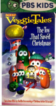The Toy That Saved Christmas PBS Kids Front Cover