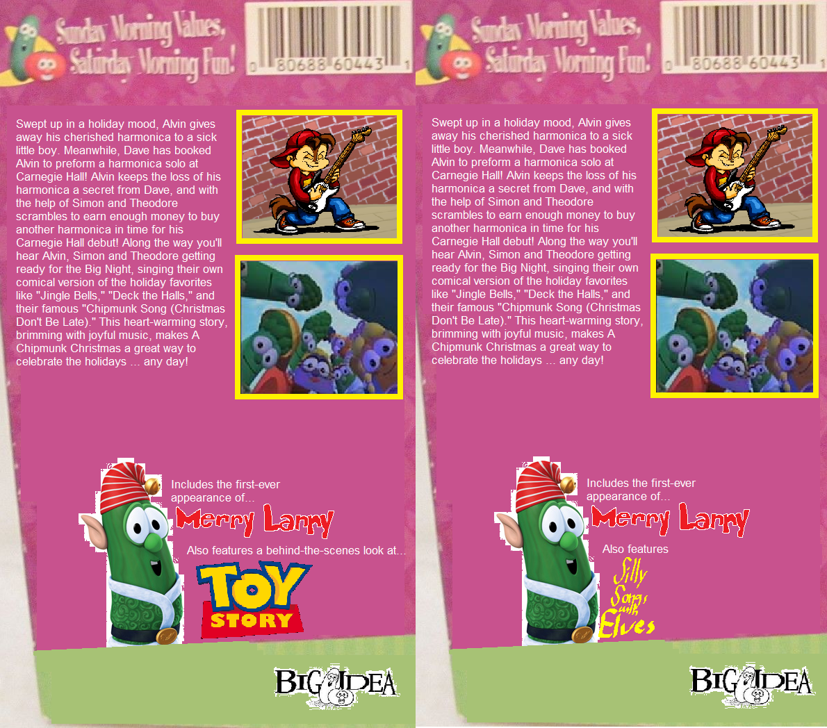 Image - Differences on A Chipmunk Christmas 2000 DVD.PNG ...