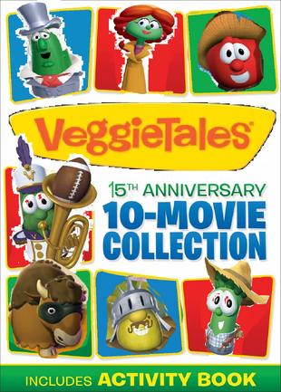 VeggieTales 15th Anniversary 10 Movie Collection