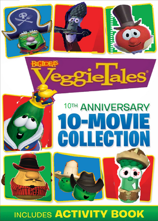 VeggieTales 10th Anniversary 10 Movie Collection