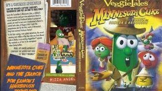 Veggie Tales Minnesota Cuke and the Search for Samon's Hairbrush 2005 Prototype DVD1