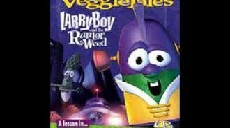 Veggie Tales LarryBoy and the Rumor Weed 2004 Prototype DVD