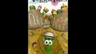 Veggie Tales Dave and the Giant Pickle Rare 1996 VHS, 2nd Prototype Version
