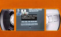 VeggieTales Kids Halloween Fun 2002 VHS tape label
