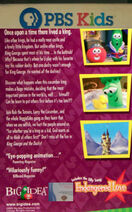 King George and the Ducky PBS Kids Back Cover