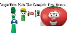 Front cover of VeggieTales Kids The Complete First Season DVD