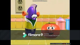Closing to VeggieTales Quadruple Feature All on One Disc Volume 3 Dave and the Giant Pickle, Madame Blueberry, King George and t