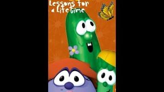 VeggieTales Lessons for a Lifetime (RARE 2001 VHS)