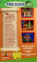 Esther The Girl Who Became Queen PBS Kids Back Cover