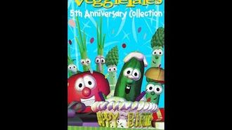 VeggieTales- 5th Anniversary Collection (RARE 1998 Word VHS)