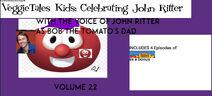 VeggieTales Kids Celebrating John Ritter 2003 VHS front cover