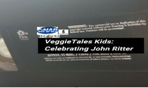 VeggieTales Kids Celebrating John Ritter 2003 VHS tape label