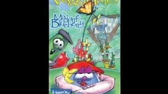 VeggieTales Madame Blueberry (RARE 1998 VHS, 2nd Prototype Version)