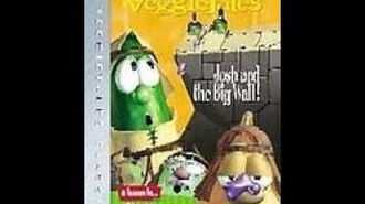 Veggie Tales Classics Josh and the BIG Wall 2002 Prototype DVD