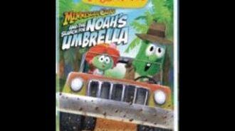 Veggie Tales Minnesota Cuke and the Search for Noah's Umbrella 2009 Prototype DVD1