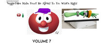VeggieTales Kids Don't Be Afraid To Do What's Right 2000 VHS front cover