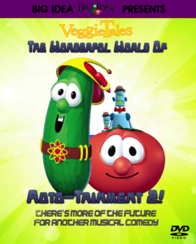 VeggieTales The Wonderful World of Autotainment 2 2018 DVD (Fanmade)