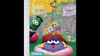 Veggie Tales Madame Blueberry 2003 Classics Prototype DVD