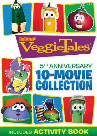 VeggieTales 5th Anniversary 10 Movie Collection