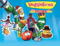 VeggieTunes Remix CD cover