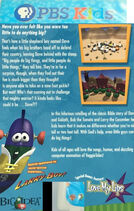 Dave and the Giant Pickle PBS Kids Back Cover