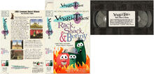 Rack, Shack and Benny 1995 PROTOTYPE VHS cover