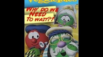 Veggie Tales Abe and the Amazing Promise Rare 2008 Prototype DVD1-1