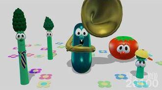 YouTube Poop - Veggie Tales 12 Stories In One Part 10