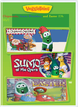 Chipmunks, Sumo Wrestlers, and Easter DVD
