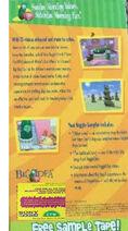 A Taste of VeggieTales Sesame Workshop Back Cover (with CTW Packaging)