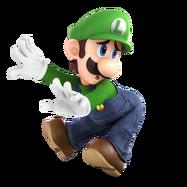 Super Smash Bros. Ultimate - Character Art - Luigi