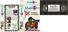 The Toy That Saved Christmas 1996 prototype VHS cover