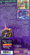 LarryBoy and the Fib From Outer Space Original CTW Back Cover