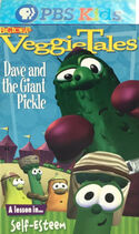 Dave and the Giant Pickle PBS Kids Front Cover