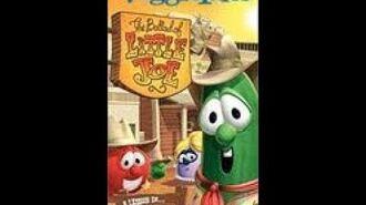 Veggie Tales The Ballad of Little Joe 2003 Prototype VHS