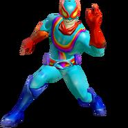 Captain rainbow render by machriderz-da8zafo